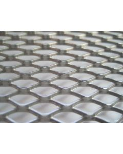 """#9 x 3/4"""" Expanded Metal - 2' x 3' Smooth Steel Sheet"""