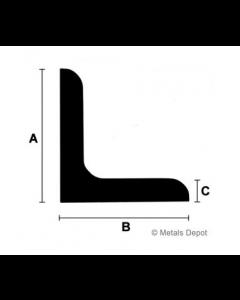 "2"" x 2"" Base Angle - 20'"